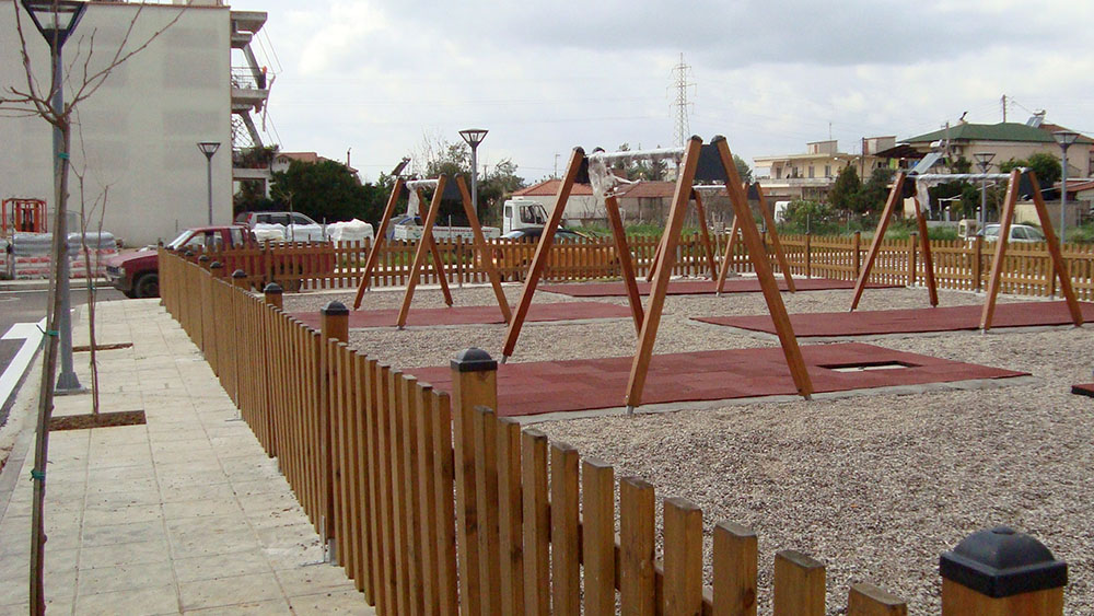 Construction of playground in the Municipality of Agrinio