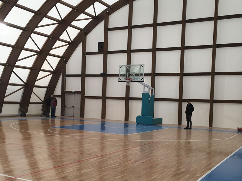 """Jewel"" for Skiathos the New Sports Hall"