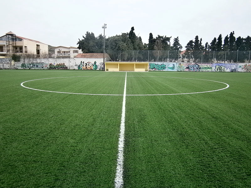 Supply and installation of synthetic turf in Myrina Limnos