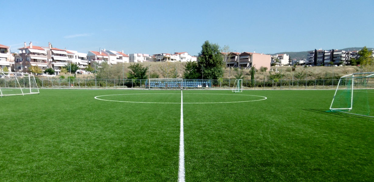 Supply and Installation of Synthetic Turf in the Karambourniotis Open Football Field of the Municipality of Pilea – Chortiatis