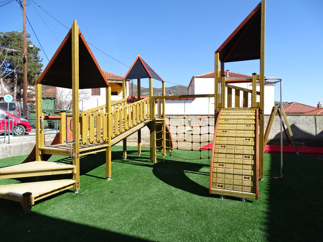Playground reconstruction in the Municipality of Deskati