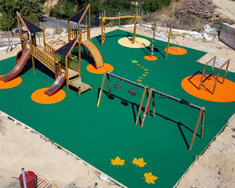 Supply – instalaltion of playground equipment for the upgrade of the playgrounds of the Municipality of Myki