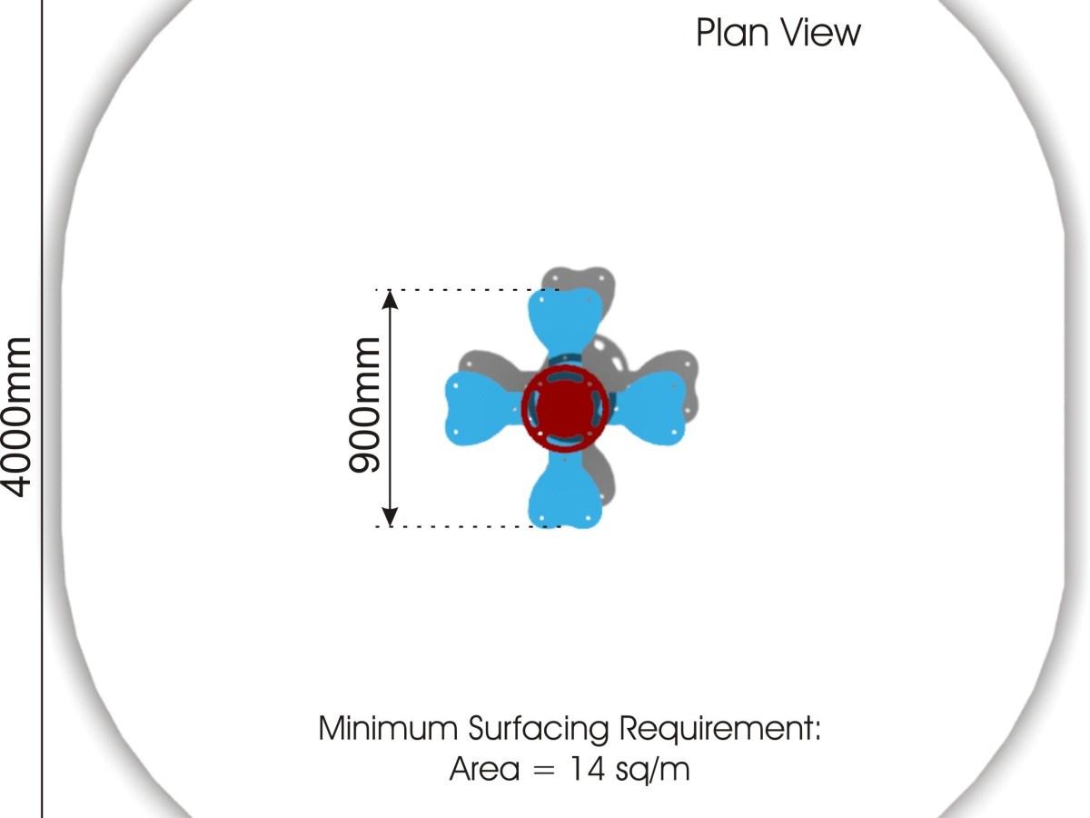 Clover Springer plan view