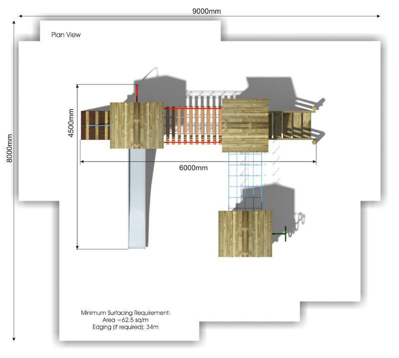 Litcham 8 Play Tower plan view