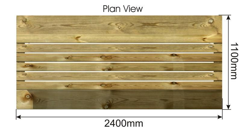 Picnic Table plan view