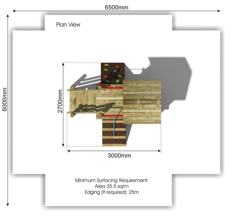 Waxham 10 Play Tower plan view