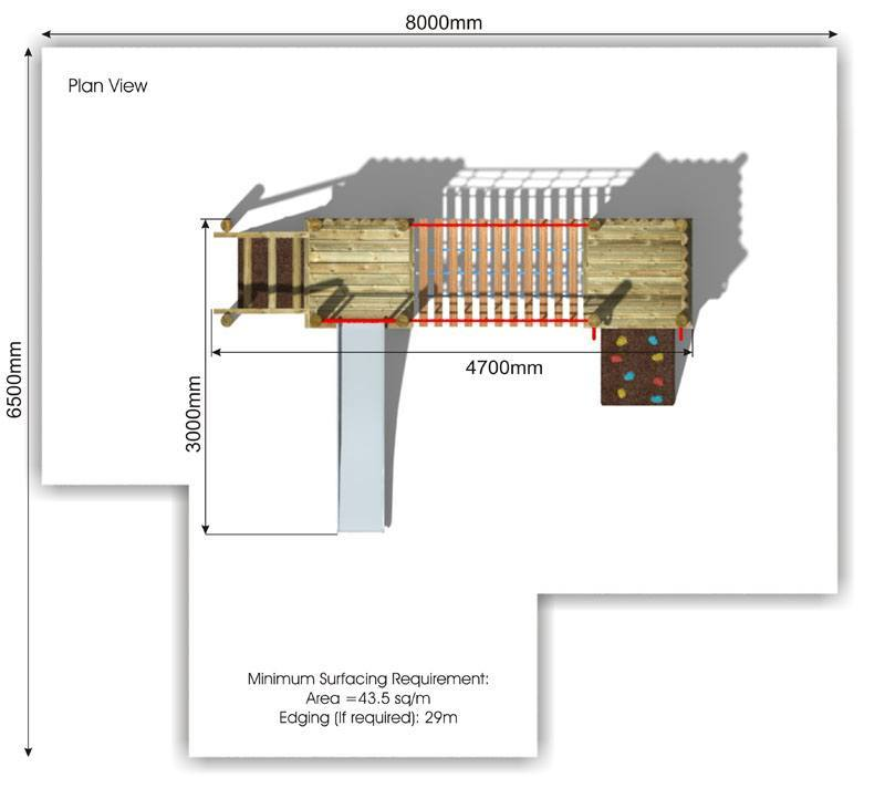 Waxham 2 Play Tower plan view