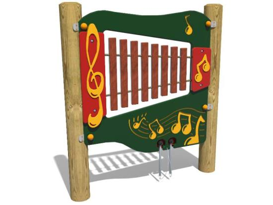 Hardwood Xylophone - one of our music panels