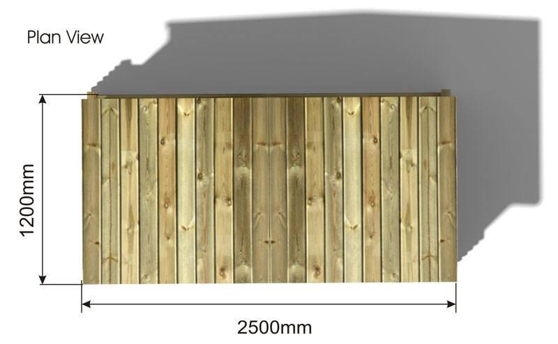 Playhouse Shelter plan view