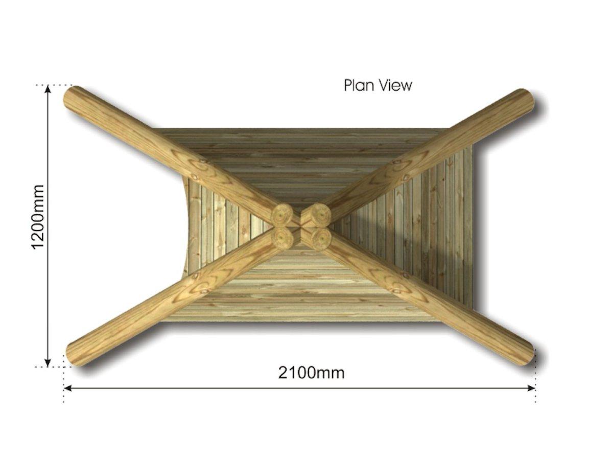 Play Wigwam plan view