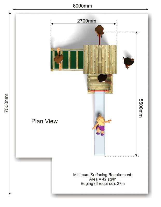 Beauchamp 9 Play Tower plan view