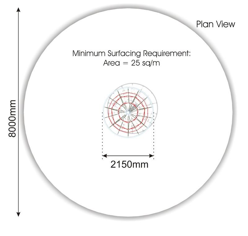 Diamond Cone Climber plan view