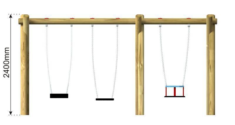 Flat & Cradle Swing 3 side view