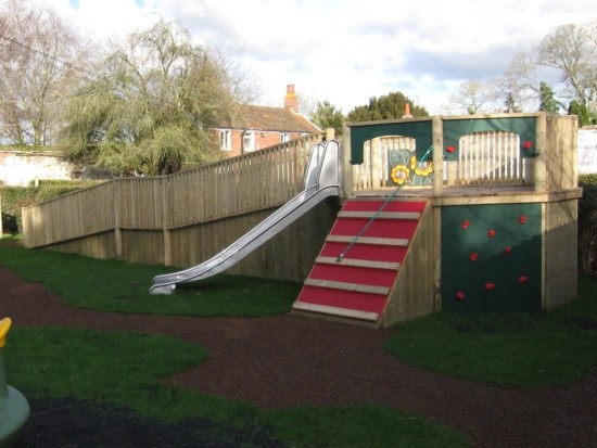 Foxley inclusive wheelchair accessible play tower banner image