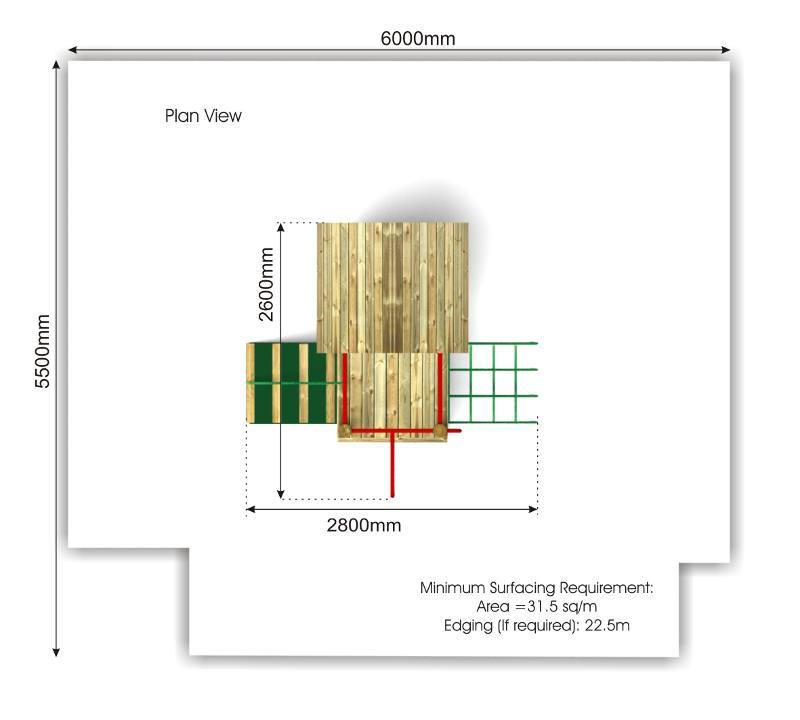 Litcham 12 Play Tower plan view