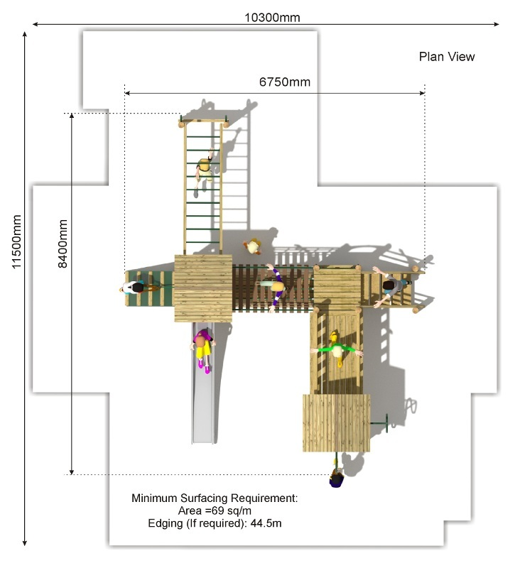 Litcham 15 Play Tower plan view