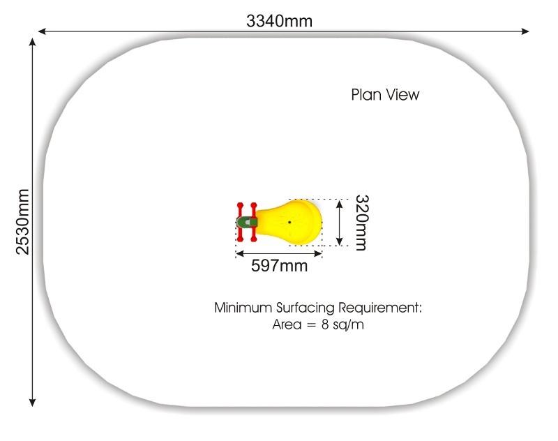 Metal Springer plan view
