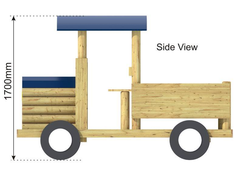 Play Truck side view
