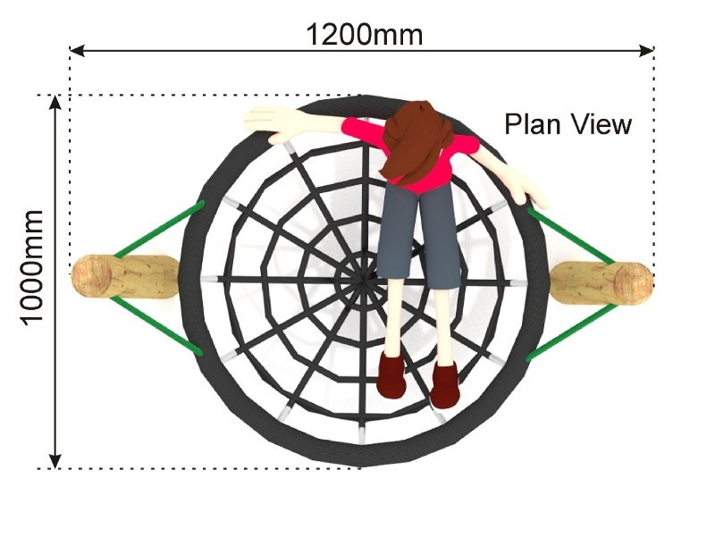 Small Nest Swing 13 plan view