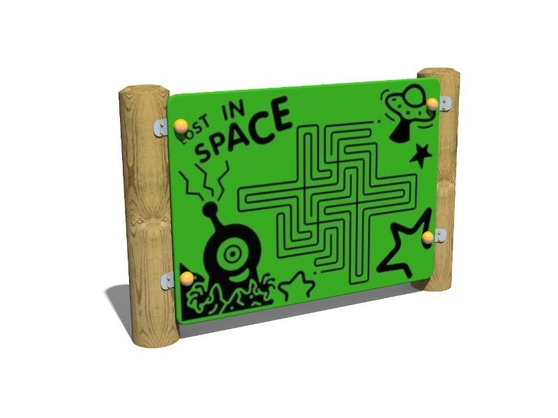 Space Maze Panel