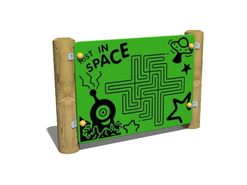Space Maze Panel