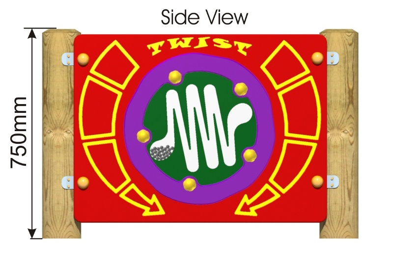 Twist Panel side view