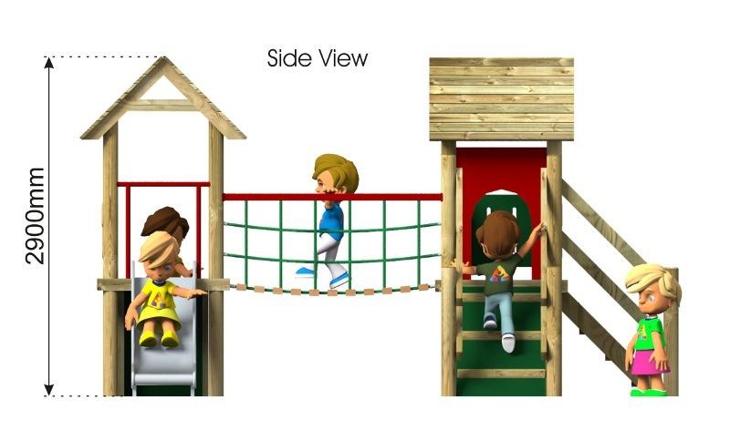 Waxham 5 Play Tower side view
