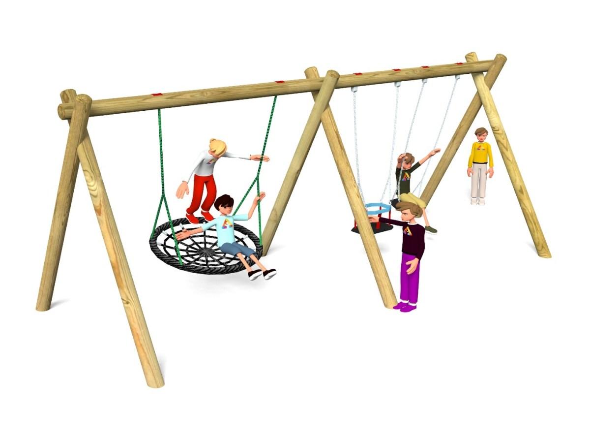 Flat, Cradle & Nest Swing 9