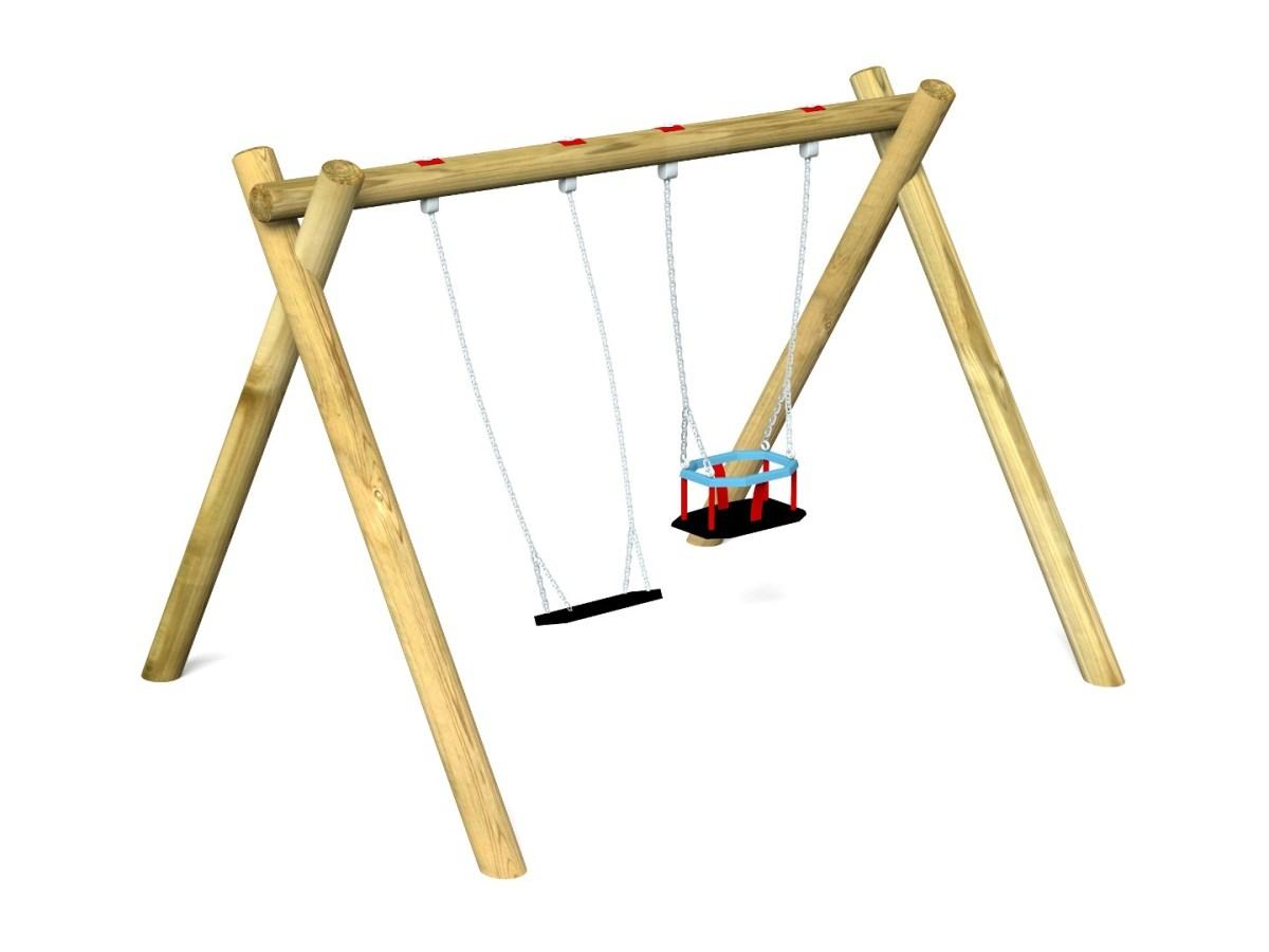 Cradle & Flat Swing 8