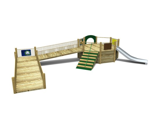 Foxley 3 Inclusive Play Tower