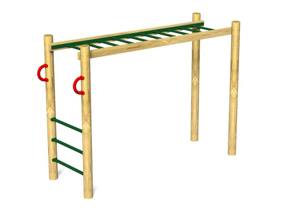 Horizontal Ladder Monkey Bar