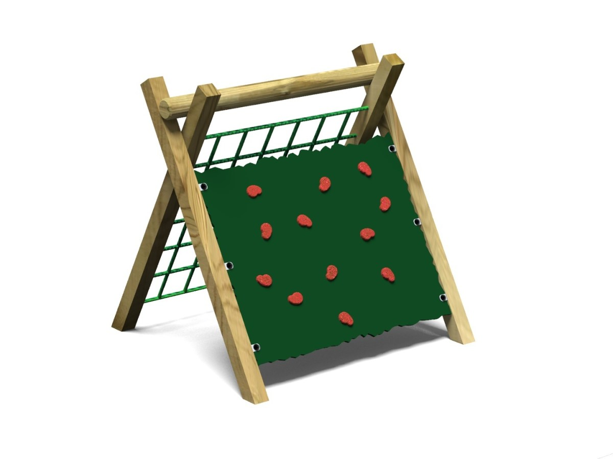 Inclined Climbing Wall