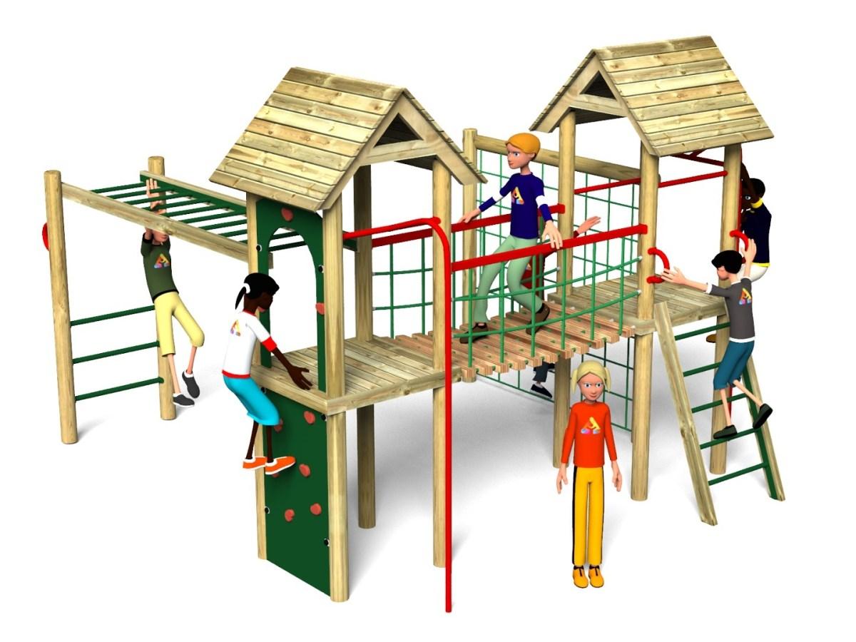 Litcham 16 Play Tower
