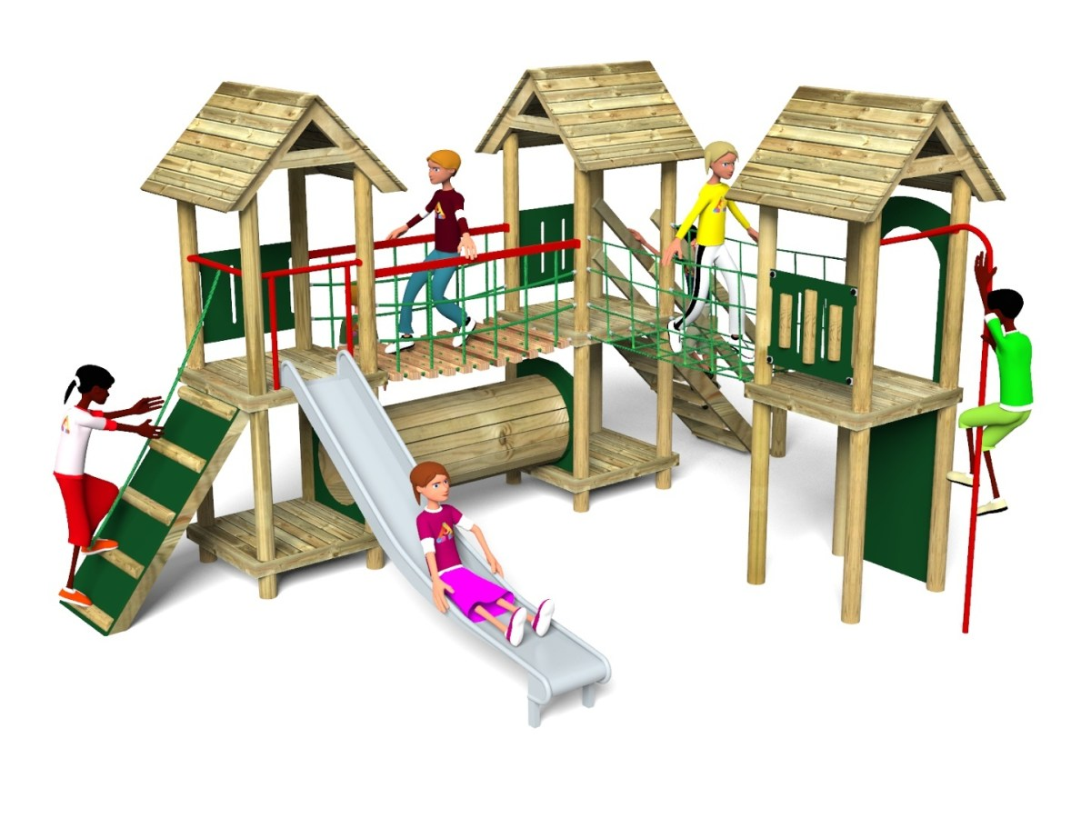 Litcham 17 Play Tower