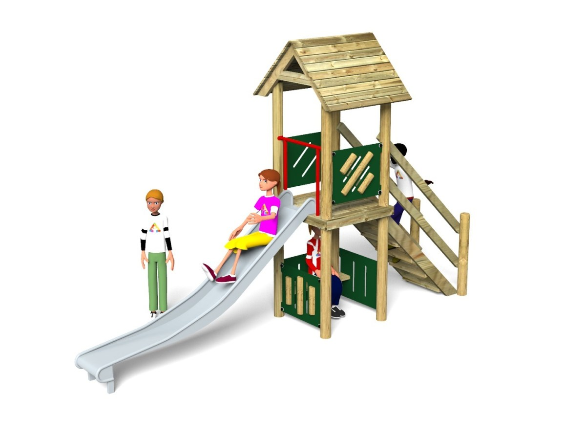 Litcham 19 Play Tower