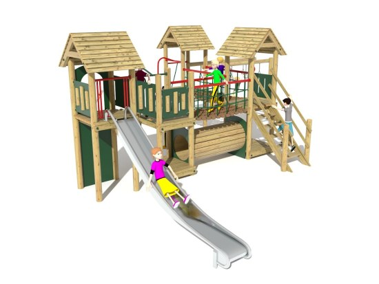 Litcham 20 Play Tower