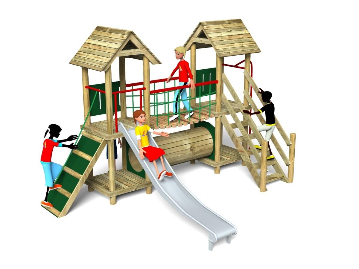 Litcham 3 Play Tower