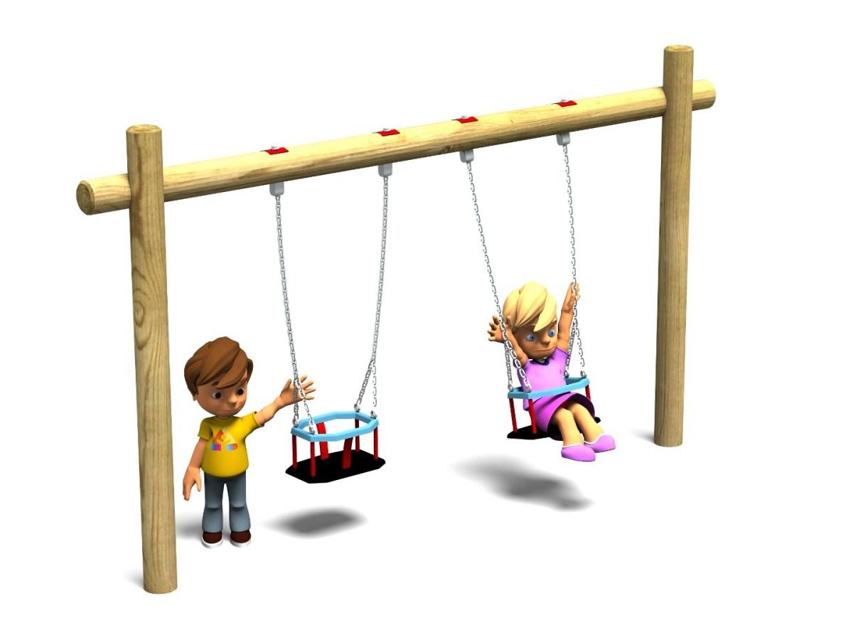 Toddler Swing 4