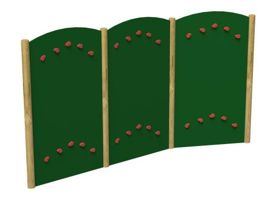 Traversing wall (3 panels)