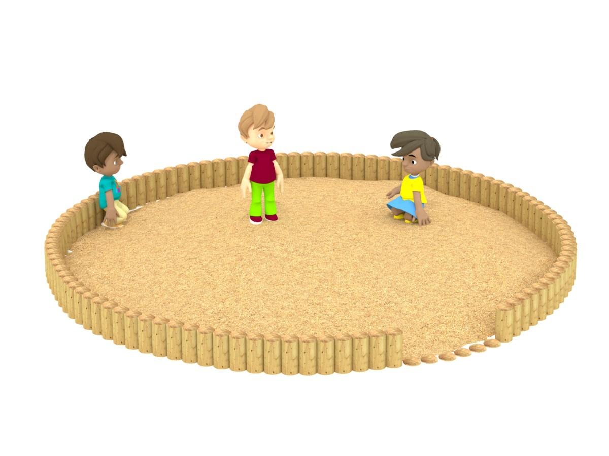Round Sand Pit