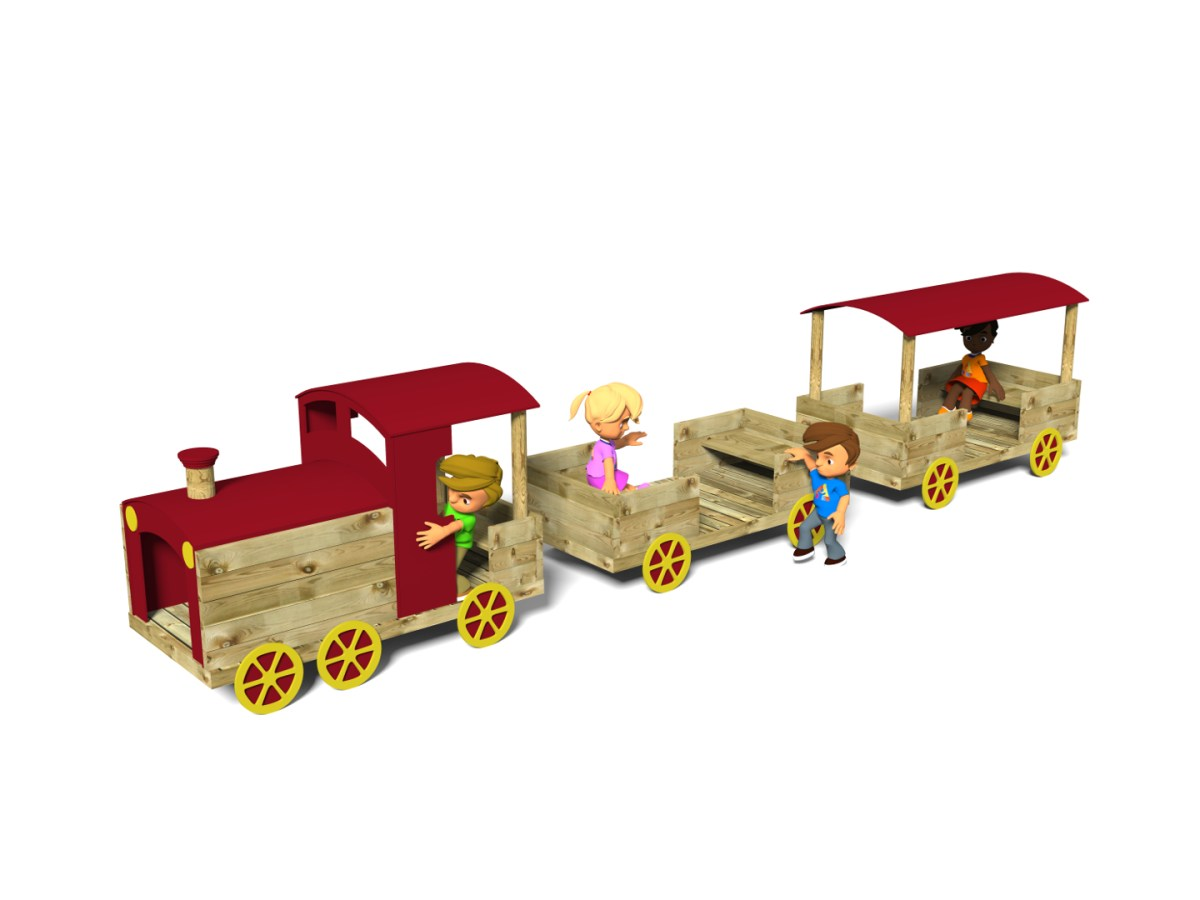 Train with Waggons