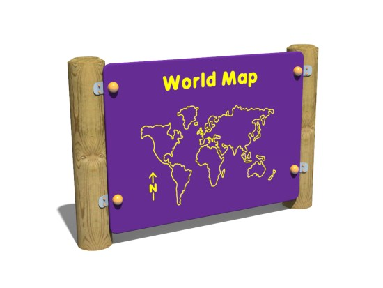 World Map Panel