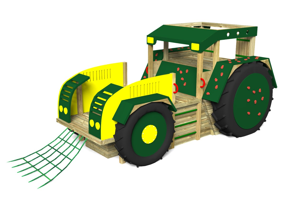 Play Tractor with no Slide