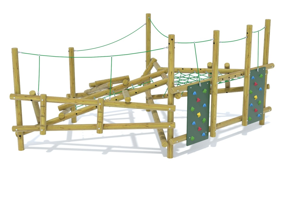 Forest Stack 12 Climbing Frame