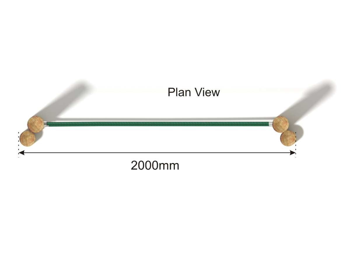 Parallel Ropes plan view