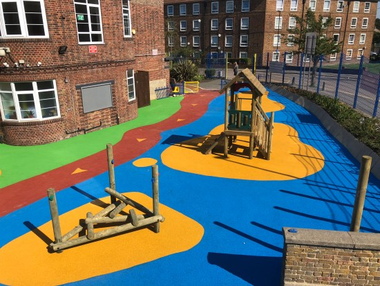 Turnham Primary School KS1 Play Ground