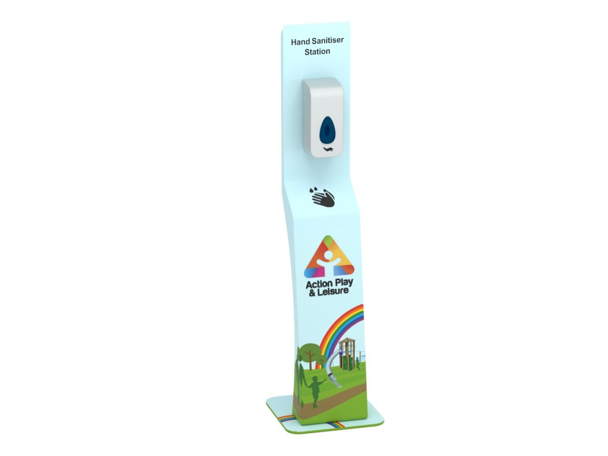 free standing hand sanitiser dispenser