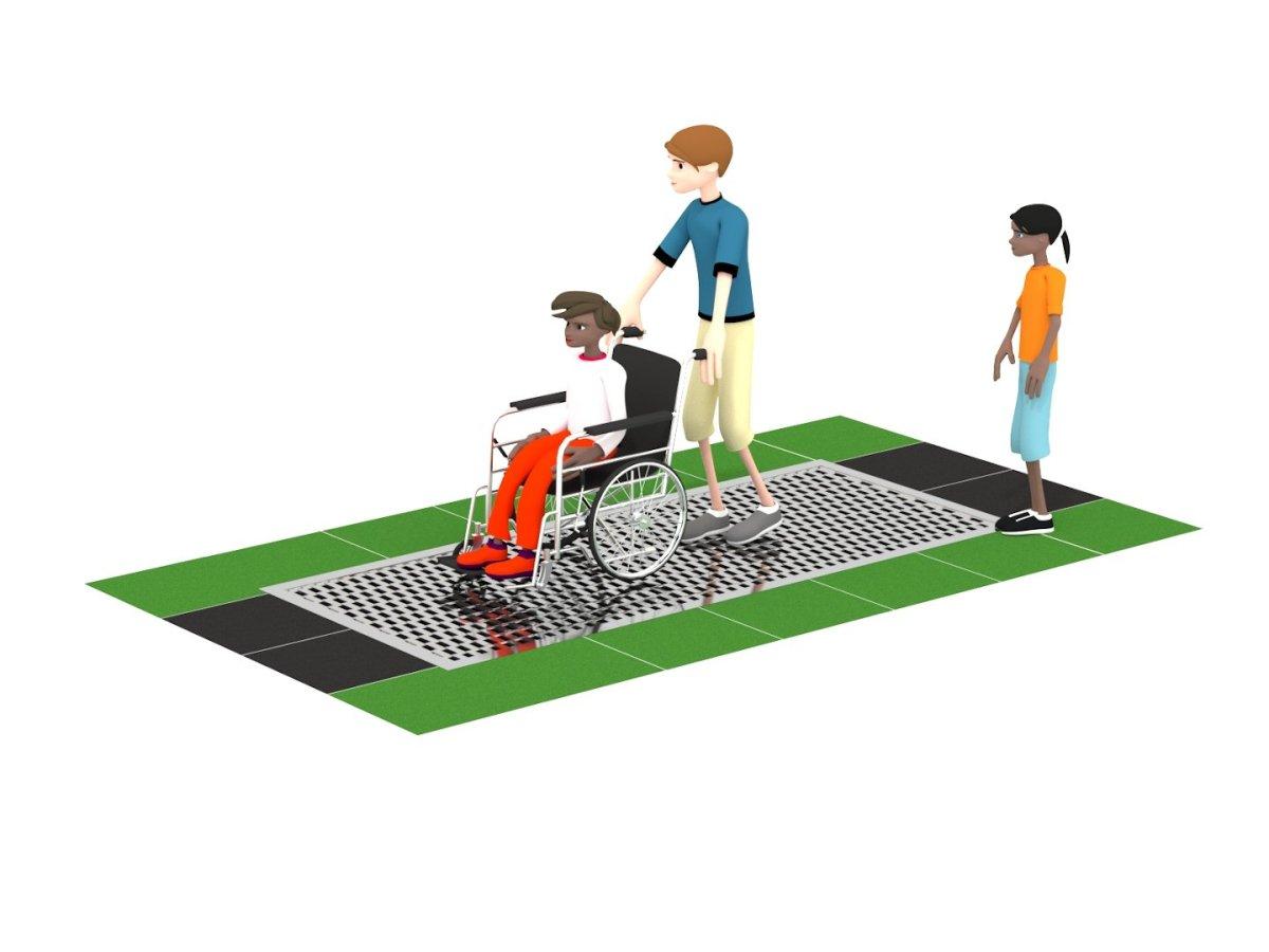Wheelchair Trampoline