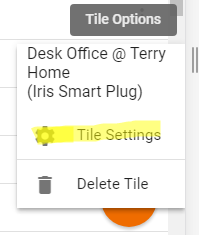 tile settings