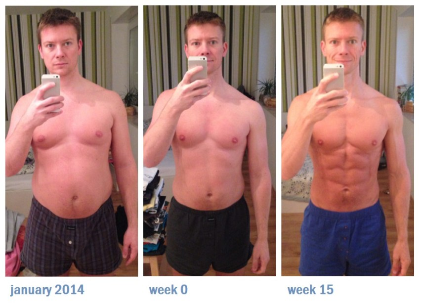 My Freeletics Transformation with Low Carb diet
